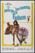 "Movie Posters:Adventure, Fathom (20th Century Fox, 1967). One Sheet (27"" X 41"").Adventure...."