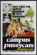 """Movie Posters:Adult, Campus Pussycats (Hemisphere Pictures, 1978). One Sheet (27"""" X 41""""). Adult...."""