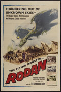 "Movie Posters:Science Fiction, Rodan! The Flying Monster (Toho/ DCA, 1957). One Sheet (26.75"" X40.75""). Science Fiction...."