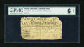 Colonial Notes:North Carolina, North Carolina March 9, 1754 30s PMG Good Net 6....