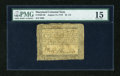 Colonial Notes:Maryland, Maryland August 14, 1776 $2 2/3 PMG Choice Fine 15....