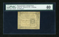 Colonial Notes:Pennsylvania, Pennsylvania March 25, 1775 6s PMG Extremely Fine 40....