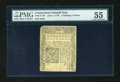 Colonial Notes:Connecticut, Connecticut June 7, 1776 2s/6d PMG About Uncirculated 55....