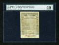 Colonial Notes:Rhode Island, Rhode Island May 1786 30s PMG Extremely Fine 40....