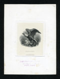 Miscellaneous:Other, Monarch of the Air Eagle Vignette Printed by the HamiltonBank Note Co.. ...