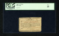 Colonial Notes:New York, New York August 2, 1775 (Water Works) 4s PCGS Fine 15....