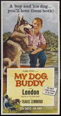 "Movie Posters:Drama, My Dog Buddy (Columbia, 1960). Three Sheet (41"" X 81""). Drama...."