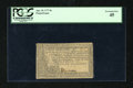 Colonial Notes:Pennsylvania, Pennsylvania April 10, 1777 8s PCGS Extremely Fine 45....