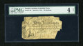 Colonial Notes:North Carolina, North Carolina March 9, 1754 40s PMG Good Net 4....