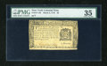 Colonial Notes:New York, New York March 5, 1776 $2 PMG Choice Very Fine 35....
