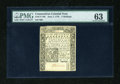 Colonial Notes:Connecticut, Connecticut June 7, 1776 5s PMG Choice Uncirculated 63....