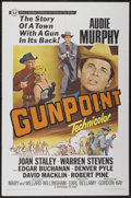 "Movie Posters:Western, Gunpoint (Universal, 1966). One Sheet (27"" X 41""). Western...."
