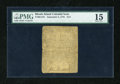 Colonial Notes:Rhode Island, Rhode Island September 5, 1776 $1/2 PMG Choice Fine 15....