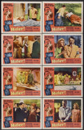 """Movie Posters:Historical Drama, Hitler (Allied Artists, 1962). Lobby Card Set of 8 (11"""" X 14"""").Historical Drama.... (Total: 8 Items)"""