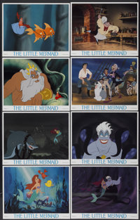 """The Little Mermaid (Buena Vista, 1989). Lobby Card Set of 8 (11"""" X 14""""). Animated.... (Total: 8 Items)"""