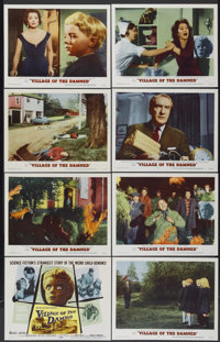 "Village of the Damned (MGM, 1960). Lobby Card Set of 8 (11"" X 14""). Science Fiction.... (Total: 8 Items)"
