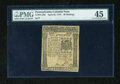 Colonial Notes:Pennsylvania, Pennsylvania April 25, 1776 40s PMG Choice Extremely Fine 45....