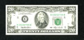 Error Notes:Ink Smears, Fr. 2079-E $20 1993 Federal Reserve Note. Extremely Fine.. ...