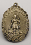 Military & Patriotic:Civil War, Silver Virginia State Seal Medallion from the John Ford Collection....