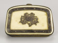 "Military & Patriotic:Civil War, Coin Purse Belonging to Confederate General ""Extra Billy"" Smith's Wife,..."