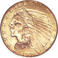 Indian Quarter Eagles, 1926 $2 1/2 MS65 PCGS....