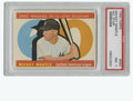 Baseball Cards:Singles (1960-1969), 1960 Topps Mickey Mantle All-Star #563 PSA NM 7. Brilliant All-Starentry from the '60 Topps issue focuses on Mickey Mantle...