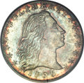 Early Half Dimes, 1795 H10C MS63 PCGS....