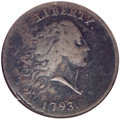 Large Cents, 1793 1C Chain, AMERICA, Periods, S-4, B-5, R.3 Fine 15 NGC....