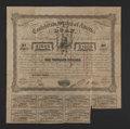 Confederate Notes:Group Lots, Ball UNL $1000 1863 Jefferson, Texas Issued Bond Very Good-Fine.....
