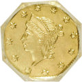 California Fractional Gold, 1855 25C Liberty Octagonal 25 Cents, BG-110, High R.4,--ImproperlyCleaned--NCS. Unc Details. NGC Census: (0/6). PCGS Popul...
