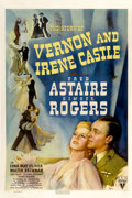 "Movie Posters:Musical, The Story of Vernon and Irene Castle (RKO, 1939). One Sheet (27"" x41"") Style A...."