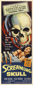 "Movie Posters:Horror, The Screaming Skull (American International, 1958). Insert (14"" X36"")...."