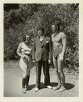 """Movie Posters:Adventure, Johnny Weissmuller in Tarzan Escapes Publicity Stills (MGM, 1936).Stills (2) (8"""" X 10"""").... (Total: 2 Items)"""