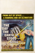 "Movie Posters:Science Fiction, The Day the Earth Stood Still (20th Century Fox, 1951). Window Card(14"" X 22"")...."