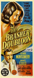 "Movie Posters:Crime, The Brasher Doubloon (20th Century Fox, 1946). Australian Daybill(13"" X 30"")...."
