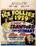 "Movie Posters:Musical, The Ice Follies of 1939 (MGM, 1939). Jumbo Window Card (22"" X28"")...."