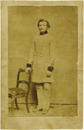 Military & Patriotic:Civil War, Confederate Surgeon Samuel Houston Caldwell Carte de Visite. Caldwell was born in Henry County, Tennessee on December 10...