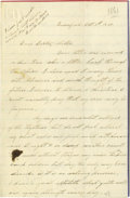 Autographs:Military Figures, Civil War Soldiers' Letters - Group lot of fifteen Civil War datedletters, including a total of thirteen by soldiers, dati... (Total:15 )