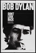 "Movie Posters:Documentary, Don't Look Back (Leacock-Pennebaker, R-1983). One Sheet (27"" X41""). Documentary. Starring Bob Dylan, Albert Grossman, Bob N..."