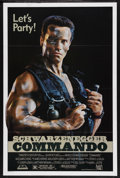 "Movie Posters:Action, Commando (20th Century Fox, 1985). One Sheet (27"" X 41"") ""Let'sParty"" Style. Action...."