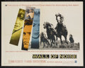 """Movie Posters:Sports, Wall of Noise (Warner Brothers, 1963). Half Sheet (22"""" X 28""""). Sports Drama. Starring Suzanne Pleshette, Ty Hardin, Dorothy ..."""