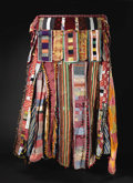 African: , Yoruba (Nigeria), Oyo Area, Ogbomosho Region. Egungun Cloth Mask. Cloth, wood. Height: 62 inches. This mask/costume is com...