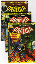 Bronze Age (1970-1979):Horror, Tomb of Dracula Group (Marvel, 1974-77) Condition: AverageFN/VF.... (Total: 12)