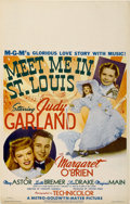"Movie Posters:Musical, Meet Me in St. Louis (MGM, 1944). Window Card (14"" X 22"")...."