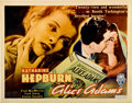 "Movie Posters:Romance, Alice Adams (RKO, 1935). Half Sheet (22"" X 28"")...."