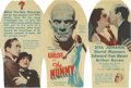 """Movie Posters:Horror, The Mummy (Universal, 1932). Herald (6"""" X 9"""" unfolded)...."""
