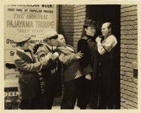 """Ted Healy and His Stooges in """"Beer and Pretzels"""" Publicity Still (MGM, 1933). Stills (2) (8"""" X 10"""")..."""