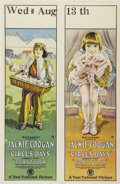 """Movie Posters:Comedy, Circus Days (First National, 1923). One Sheet (27"""" X 41"""")...."""