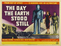"Movie Posters:Science Fiction, The Day the Earth Stood Still (20th Century Fox, 1951). BritishQuad (30"" X 40"")...."