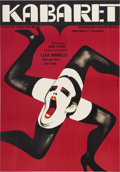 "Movie Posters:Musical, Cabaret (Allied Artists, 1972). Polish A1 Poster (23"" X 33"")...."